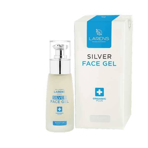 larens silver face gel