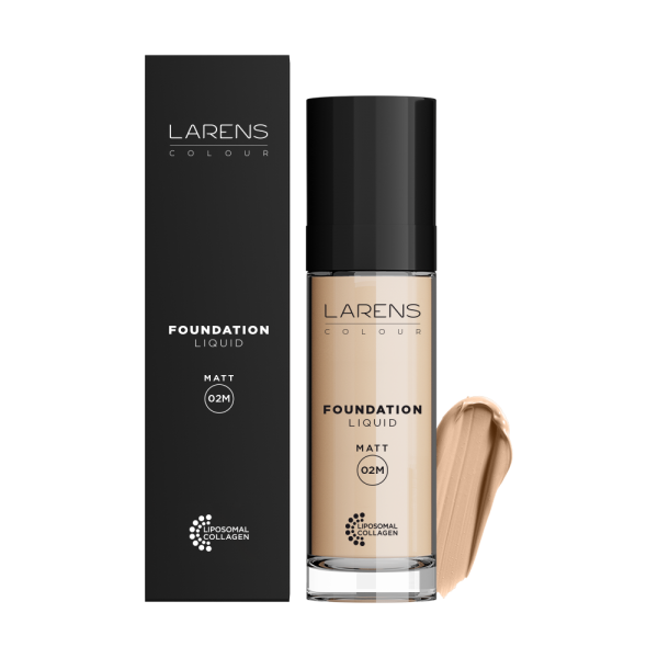 Larens foundation liquid matt